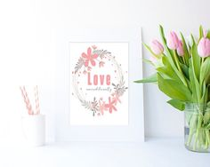 Love Unconditionally JPEG in 4 sizes by Clickatoos on Etsy