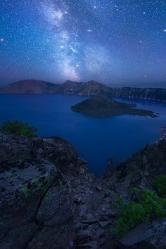 Crater Lake, Oregon, by Dave Morrow