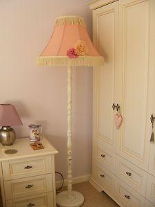 Shabby Chic Style Standard Lamp