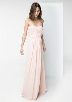 Robe longue drapée MANGO 149,99 €