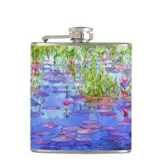 Lotus Pond Flasks