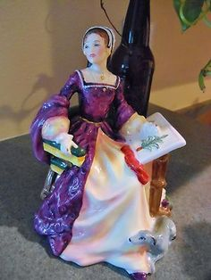 Royal Doulton Mary Tudor HN3834 Tudor Roses Collection Ed Lady Figurine | eBay