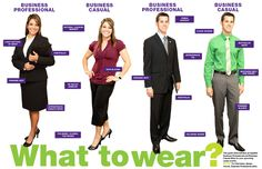 The Difference Between Business Casual and Professional Attire