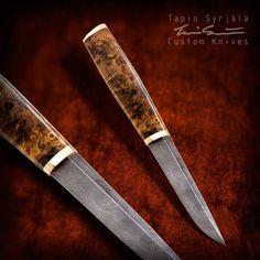 Tapio Syrjalla knives