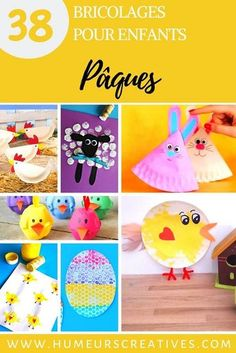 Find all full of easy crafts to do with kids to celebrate Easter! Easter eggs, hens and chicks, rabbits, owls crafts ideas! Easter Crafts To Make, Crafts To Do, Easy Crafts, Owl Crafts, Hens And Chicks, Parenting Toddlers, Cool Ideas, Craft Party, Fun Projects
