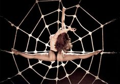 Amazing idea!! The use of a spider's web @Missjadebd   burlesque show - Google Search