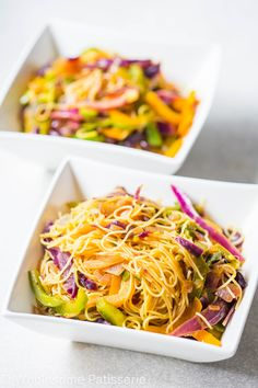 Happy Tuesday! Want a way to brighten up your day? Nothing better than looking forward to super flavoursome and delicious dinner after a long day, introducing my Vegan Singapore Noddles! Where do I start? Let's start with honesty, I had never made Singapore Noodles before this dish, shocker! I was always one to enjoy take-out...