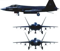 Chinese F-60/J31 Shen Fei (Falcon Eagle) Stealth Fighter Jet ~ Chinese Military Review