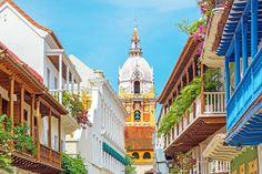 Uma das principais cidades da Colômbia, Cartagena, tornou-se ao longo de sua história um dos portos mais importantes do mar do Caribe