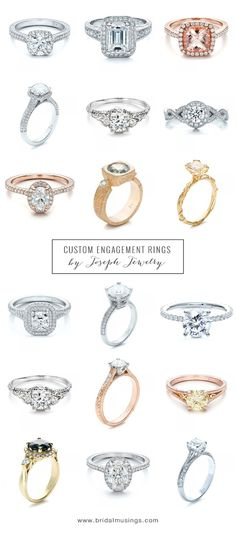 sparkly gorgeousness - which is your favourite engagement ring?