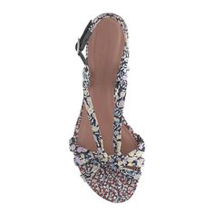 Pre-order Tabitha Simmons® for J.Crew Maggie Mott sandals in Liberty floral