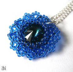 Modrý Swarovski prívesok od www.sperkysan.sk
