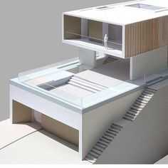 Top 10 Modern house designs – Modern Home Villa Design, Modern House Design, Concept Architecture, Interior Architecture, Casas Containers, Facade House, Model Homes, Little Houses, Building A House