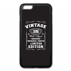 well aged original parts limited edition 1996 iPhone 6/6s Plus Rubber Case