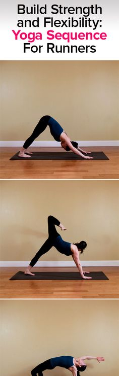This 10-posture yoga sequence is tailor-made for building stronger legs to punch up steep hills, endure long runs, and to do so with optimum speed.