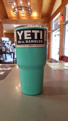 Yeti Rambler 30 ounce - Custom Powder Coated Teal Tumbler *Powder Coating Process is applied by Patriot Jacks Outfitters / not Yeti Coolers. *Any warranty issues will be warrantied by Patriot Jacks Ou