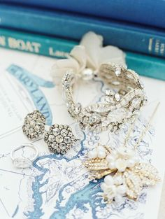 To see more gorgeous details about this wedding: http://www.modwedding.com/2014/11/19/ethereal-chesapeake-bay-wedding-erich-mcvey-photography/ #wedding #weddings #jewelry