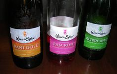 Wine for Spice's wines -