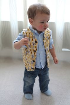Baby vest reversible size 12month boys