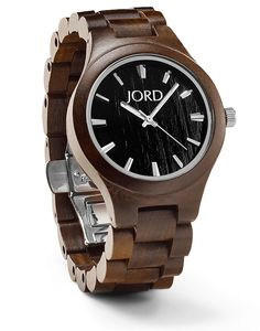 Shop our complete collection of mens and womens wood watches for him and her.  JORD is a premium designer of hand-crafted wooden watches for ladies and men.  Unique, classic & stylish...