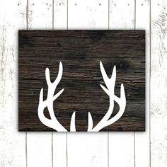 If it's a  Printable Art, Rustic Deer Antler Print, Wood Sign Print for Rustic Home Decor, INSTANT DOWNLOAD on Etsy, #interior design #modern home design  http://modern-house-design.lemoncoin.org
