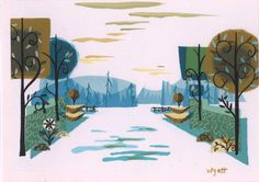Carol Wyatt's concept artwork for Foster's Home for Imaginary Friends cartoon swagger