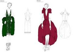GREAT GATSBY SKETCHES ROBE - Google Search