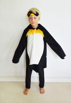 Kostüme für Kinder - Pinguin 8-9 Jahre, Pingu - ein Designerstück von maii-berlin bei DaWanda