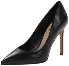Vince Camuto Women's Norida Dress Pump, Black Nappa, 7.5 M US. Classic pump featuring pointed toe and covered heel.