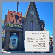 Ten tips you need to know about Universal Orlando during COVID-19. Find out what's open, what's not, what safety protocols are in place, and   whether a trip to Orlando is right for you right now.