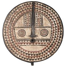 Bobo Mask from Mali, Africa Used to Celebrate Abundant Harvest | From a unique collection of antique and modern wall-mounted sculptures at https://www.1stdibs.com/furniture/wall-decorations/wall-mounted-sculptures/