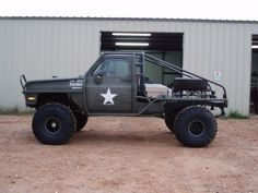 who's truck is this? (caged cucv?) - CK5 Forums