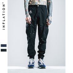 Fair price INFLATION Men Ankle-Tied Jeans Joggers New Denim Overalls Men Biker Homme Ink-jet Prinitng Jeans Pants For Men Free Shipping just only $26.49 with free shipping worldwide  #jeansformen Plese click on picture to see our special price for you