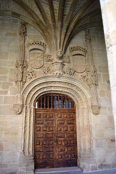 Monasterio de Santa María la Real. Nájera (La Rioja), Spain
