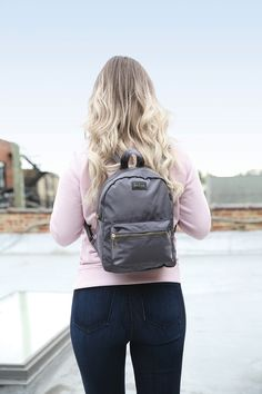 DM Merchandising's Kedzie MAINSTREET MINI BACKPACK: Roomy main compartment, Adjustable straps, and Zippered front pocket Mini Backpack, Backpacks, Zipper, Pocket, Fashion, Moda, Fashion Styles, Backpack, Zippers