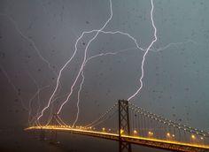 Thursday night, God attempts to destroy the Bay Bridge