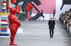 Karl Lagerfeld, Chanel Spring 2014 #PFW #Paris #FashionWeek