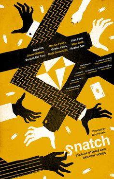 Snatch Movie Poster on Behance