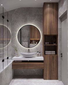 Bathroom Design Luxury, Bathroom Layout, Modern Bathroom Design, Small Bathroom, Bathroom Goals, Luxury Interior, Modern Interior, Home Interior Design, Bad Inspiration