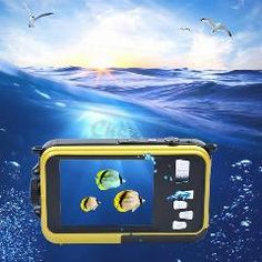 [ 18% OFF ] 24Mp Double Screens Waterproof Digital Camera,2.7 Inch +1.8 Inch Screens Hd 1080P Cmos 16X Zoom Camcorder Mini Camera Dvr50_3463