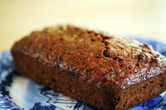 zucchini bread recipe from SImply Recipes. Made it with pecans. Next time I think I'll also add raisins. Just Desserts, Delicious Desserts, Dessert Recipes, Yummy Food, Zucchini Bread Recipes, Simply Recipes, Sweet Bread, So Little Time, Love Food