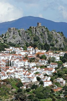 Overview of Caceres -  Spain