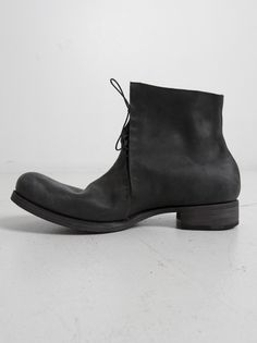 M.A+ - Side Lace Short Boot - SIG2 VAFO 1.5 BLACK - H. Lorenzo