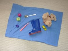 Sensory Pillow Case Game