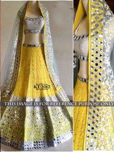 Savvys Bollywood Saree Indian Designer Party wear Sari Pakistani Lehenga KT-2012 #SavvysStore #LehngaCholi #PartyWearBridalWeddingFestivalReception