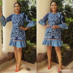 The complete pictures of latest ankara short gown styles of 2018 you've been searching for. These short ankara gown styles of 2018 are beautiful African Fashion Ankara, Latest African Fashion Dresses, African Print Dresses, African Print Fashion, African Dress, African Prints, Ankara Short Gown Styles, Trendy Ankara Styles, Short Gowns