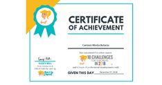 I just received a certificate of completion for Shake Up Learning's Online Course!