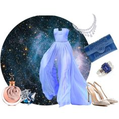 we can ride on a star by sevgikorkmaz on Polyvore featuring moda, Gianvito Rossi, MeDusa, Valentino and Thierry Mugler