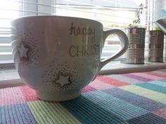Sharpie art; Christmas mug