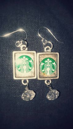 Check out this item in my Etsy shop https://www.etsy.com/listing/272763168/repurposed-recycled-starbucks-card